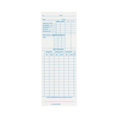 Dx3200 Time Cards – Box Of 1000
