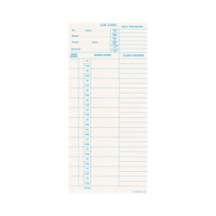 Jc10 Job Costing Cards – Box Of 1000