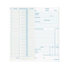 Jc100 Job Costing Cards – Box Of 1000