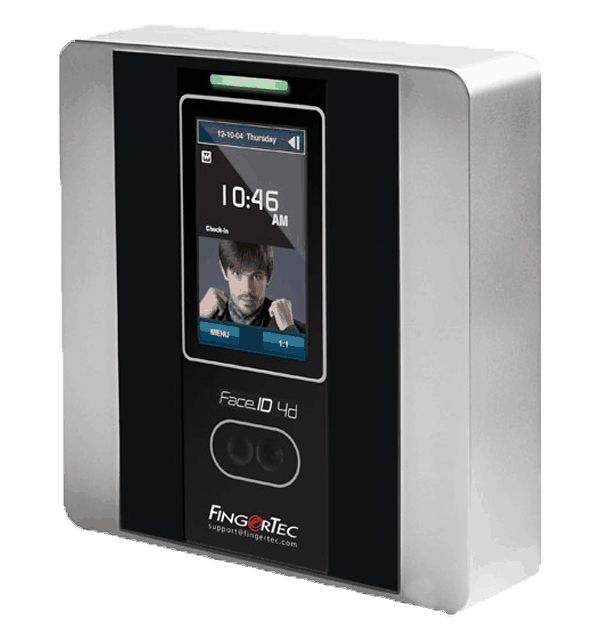 FaceID Time Clock with TCMSV3 Time and Attendance  Software