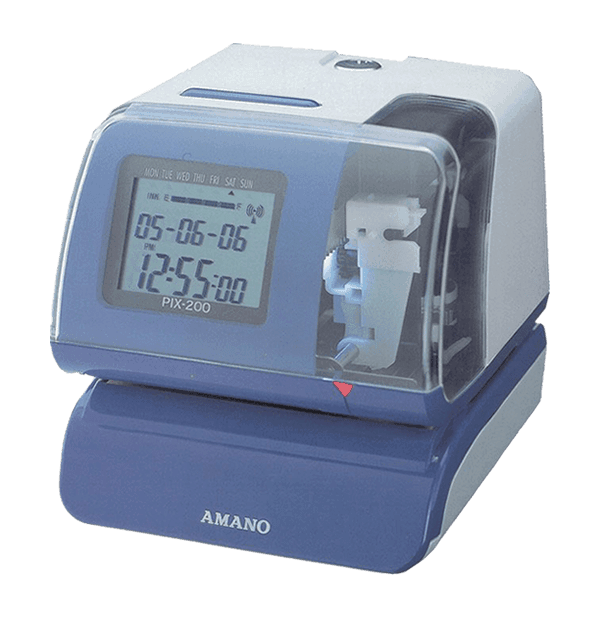 Amano Pix200 Time Recorder