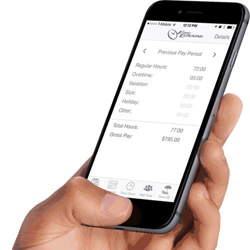 Easy Clocking Mobile Time & Attendance Solution