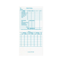 Kp210w Time Cards – Box Of 1000