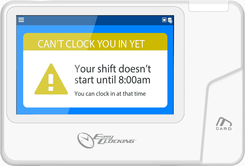 Easy Clocking Xenio50WIFI
